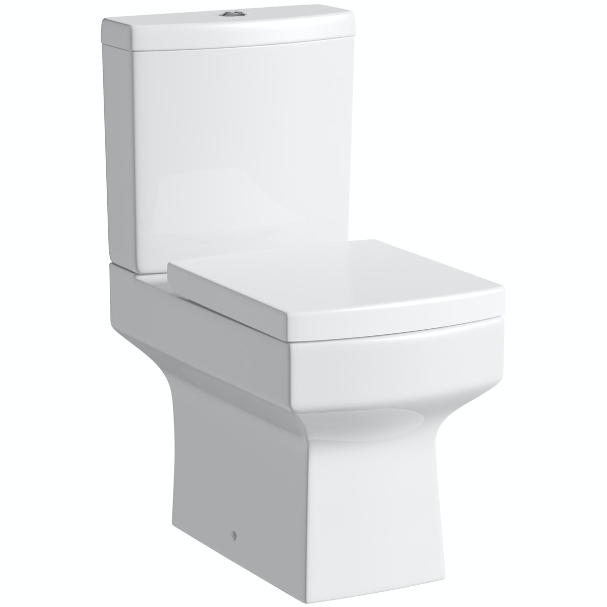 Orchard Wye Close Coupled Toilet And Soft Close Toilet