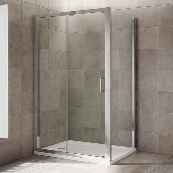 Mira Leap sliding shower door