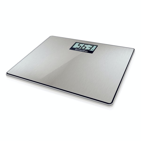 Terraillon Material Inox LCD stainless steel bathroom scale