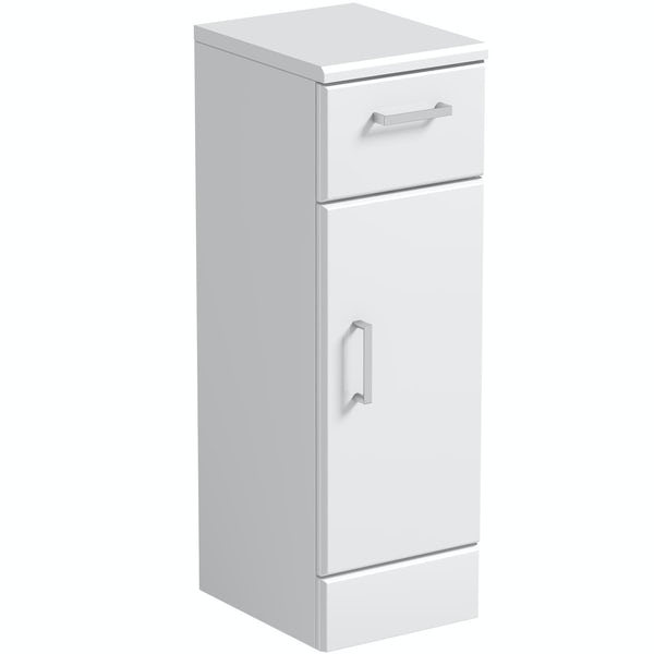 Orchard Eden white storage unit 300mm