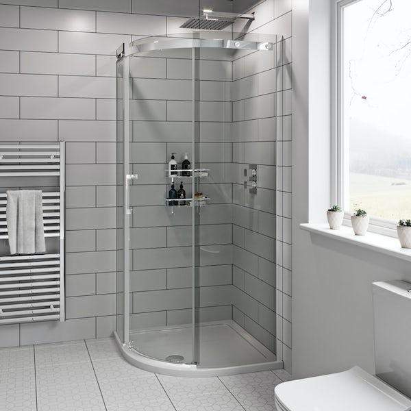 Mode Harrison 8mm easy clean quadrant shower enclosure