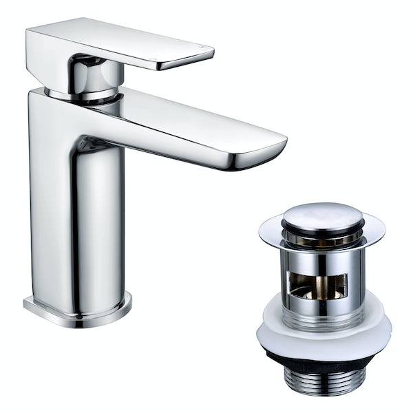 Mode Foster chrome basin mixer tap with FREE waste