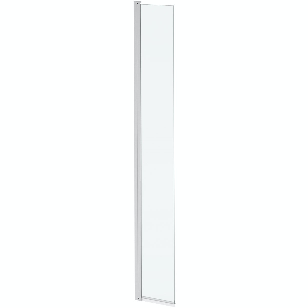 Mode 8mm wet room hinged return panel