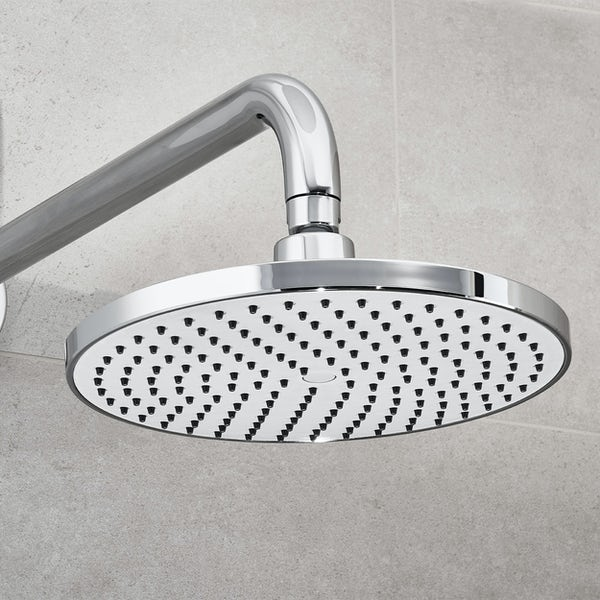 Aqualisa Visage Q Smart concealed shower pumped with wall head