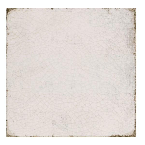 Aragon aged white matt wall and floor tile 200mm x 200mm