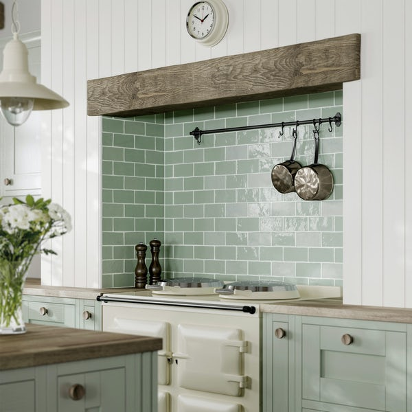 Annecy duck egg gloss wall tile 75mm x 150mm