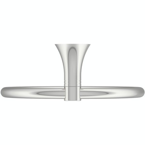 Accents round contemporary towel ring