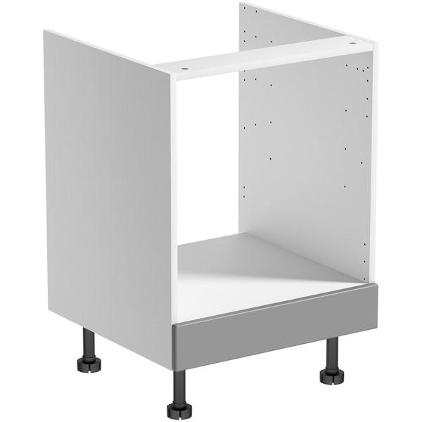 Schön New England light grey shaker 600mm built in oven housing