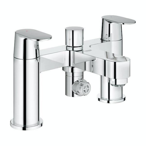 Grohe Eurosmart Cosmopolitan bath shower mixer tap | VictoriaPlum.com