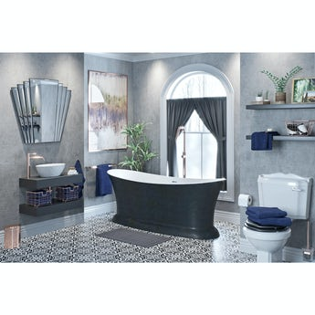 Mode Get The Look Dark Wonder freestanding bath suite