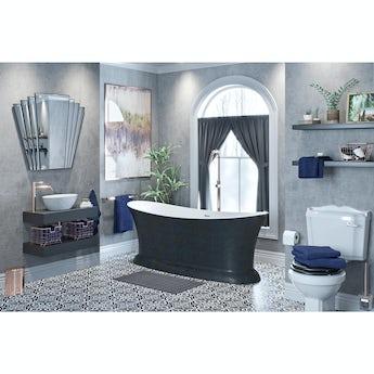 Mode Get The Look Dark Wonder freestanding bath suite