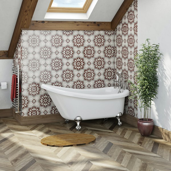 The Bath Co. Traditional single ended slipper bath with ball and claw feet 1500 x 750