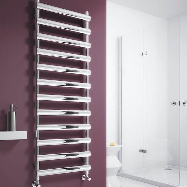 Reina Deno polished stainless steel designer radiator