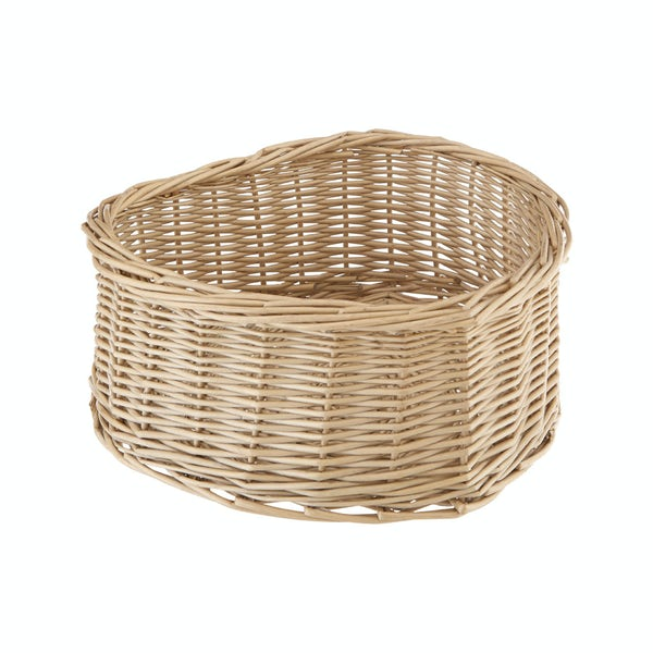 Heart shaped willow basket