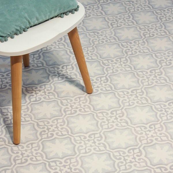 Faus Victorian Tile moisture resistant click flooring 8mm
