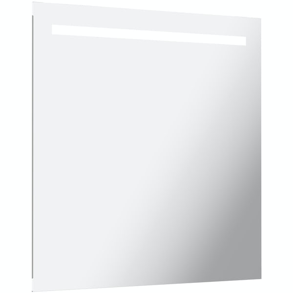 Mode Rossi LED Mirror with under light 600mm