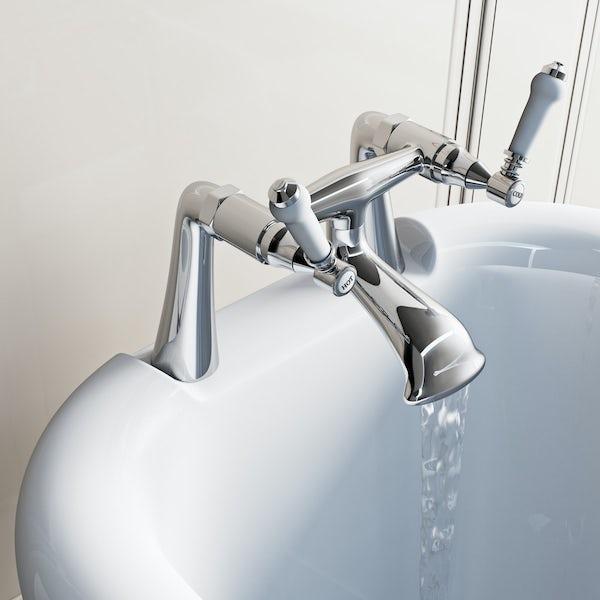 The Bath Co. Winchester bath mixer tap