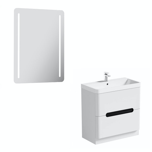 Mode Ellis essen vanity unit 800mm and mirror offer