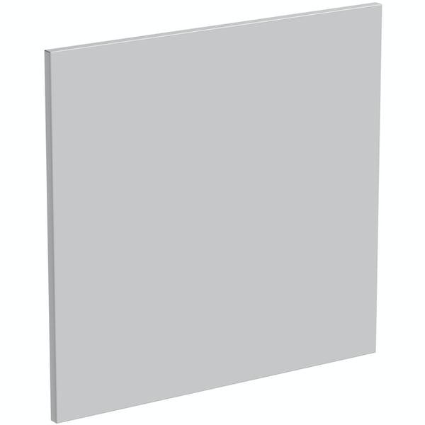 Schon Chicago light grey 600mm semi integrated dishwasher fascia
