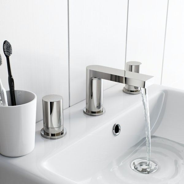Mode Heath 3 hole basin mixer tap