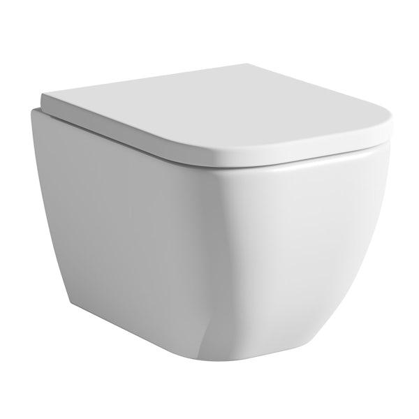 Mode Ellis wall hung toilet inc soft close seat