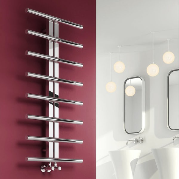 Reina Pizzo stainless steel designer towel rail 1000 x 600