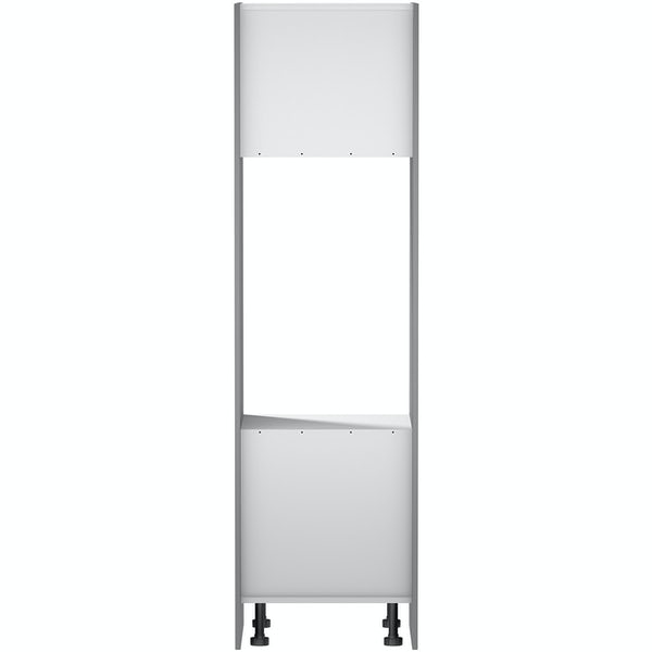 Schön New England light grey shaker 600mm double oven housing unit