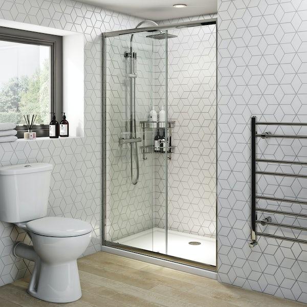 Clarity 4mm sliding shower door