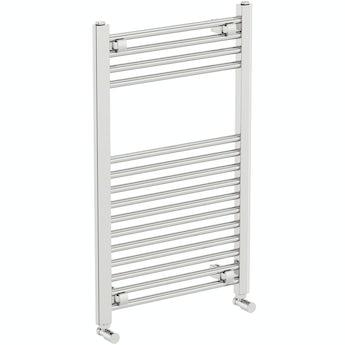 The Heating Co. Phoenix chrome heated towel rail