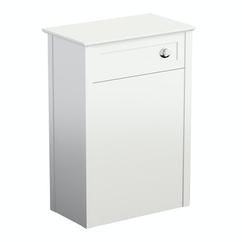 The Bath Co. Camberley white back to wall toilet unit 570mm