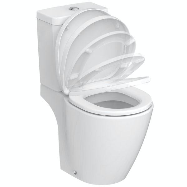 Ideal Standard Concept Space elm complete left handed shower bath suite 1700 x 700