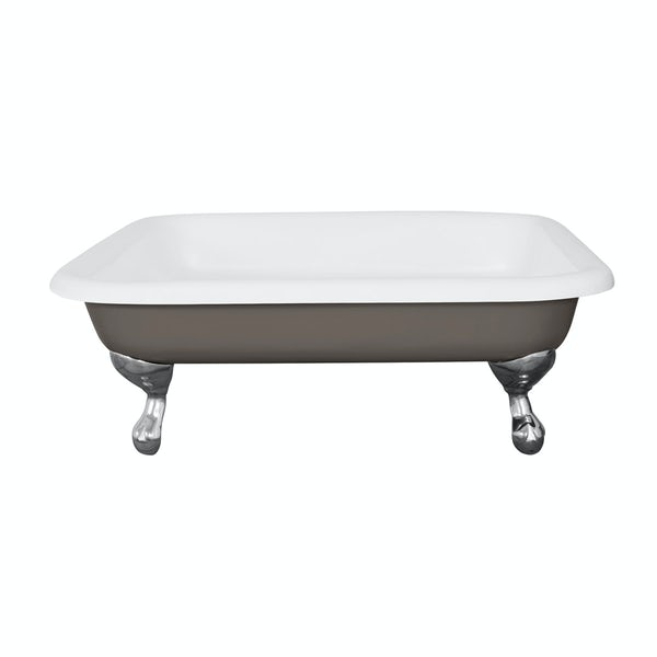 The Bath Co. Lewes keystone grey cast iron shower tray