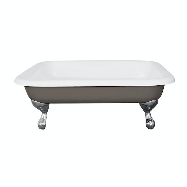 The Bath Co. Lewes keystone grey cast iron shower tray