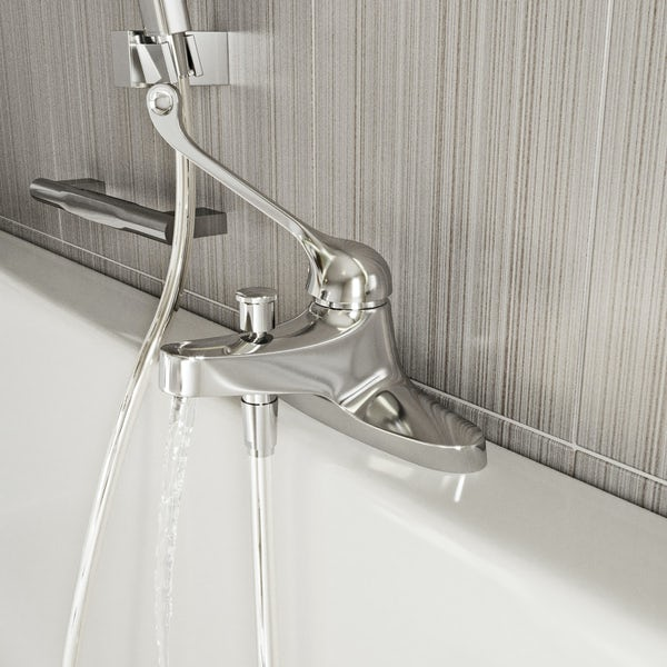 Kirke WRAS thermostatic bath shower mixer tap