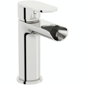 Orchard Wharfe waterfall basin mixer tap