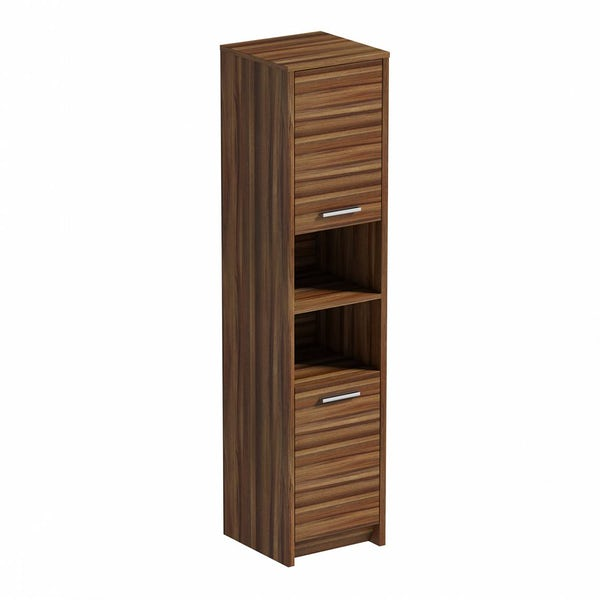 Smart Walnut Tall Unit