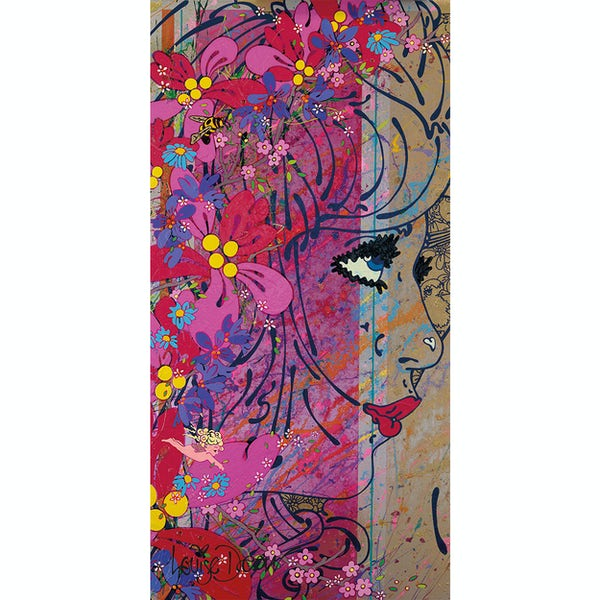 Louise Dear Oooh Yeah! acrylic shower wall panel 2400 x 1220mm