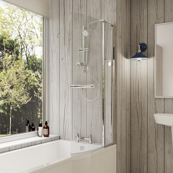 Ideal Standard ceratherm 100 exposed thermostatic shower pack with fast fix kit and IdealRain M3 kit