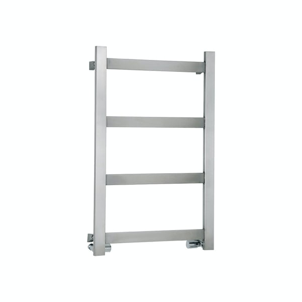 Reina Mina brushed stainless steel designer towel rail