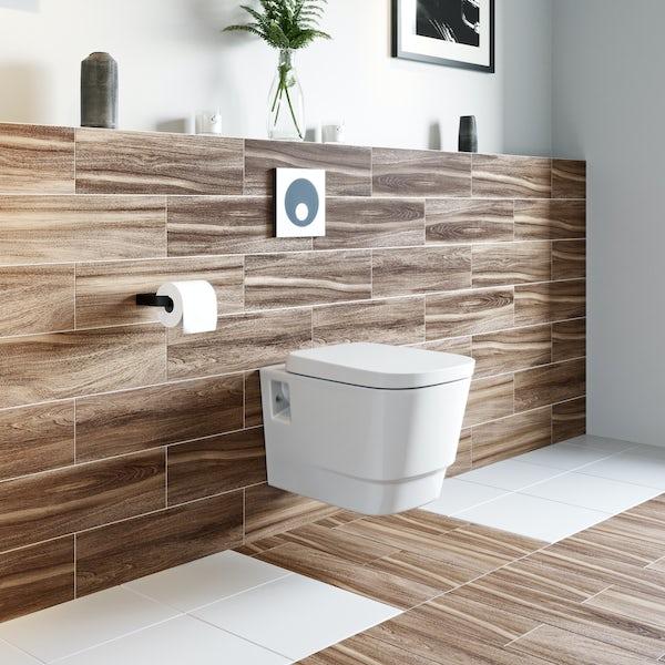 Macdee WIrquin Universal Wall Hung frame inc. push button cistern