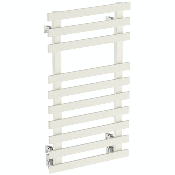 Daisy 10 bar heated towel rail 840 x 500
