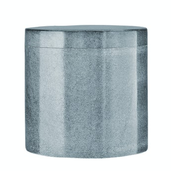 Accents Grey marble storage jar