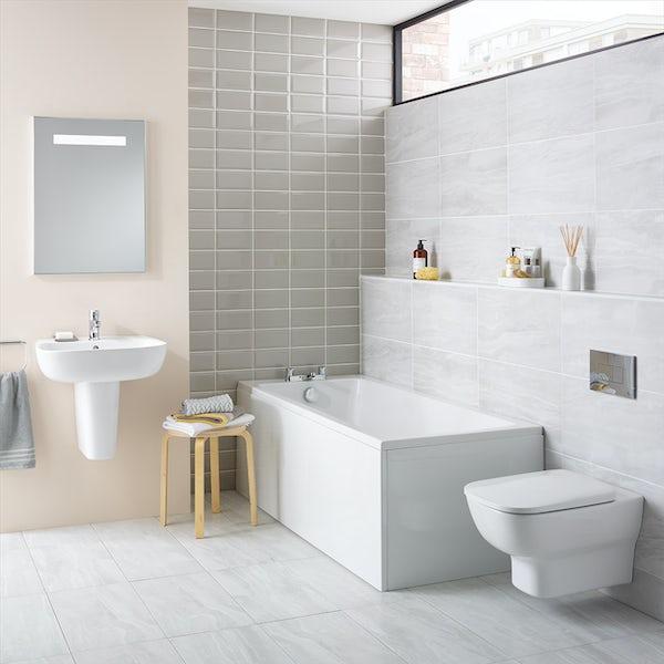 Ideal Standard Tempo Arc straight bath 1700 x 700