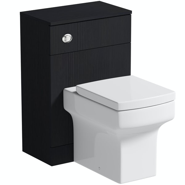 Orchard Wye essen back to wall unit and toilet with soft close seat