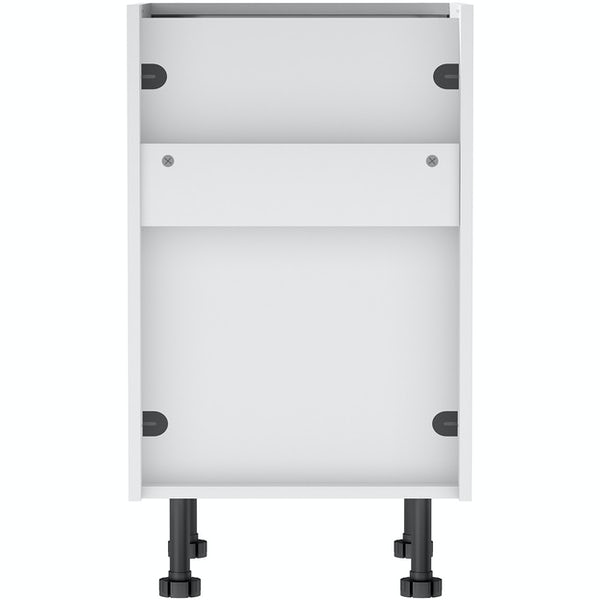 Schon Chicago light grey slab 3 drawer unit