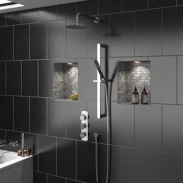 Mode Austin triple thermostatic shower valve
