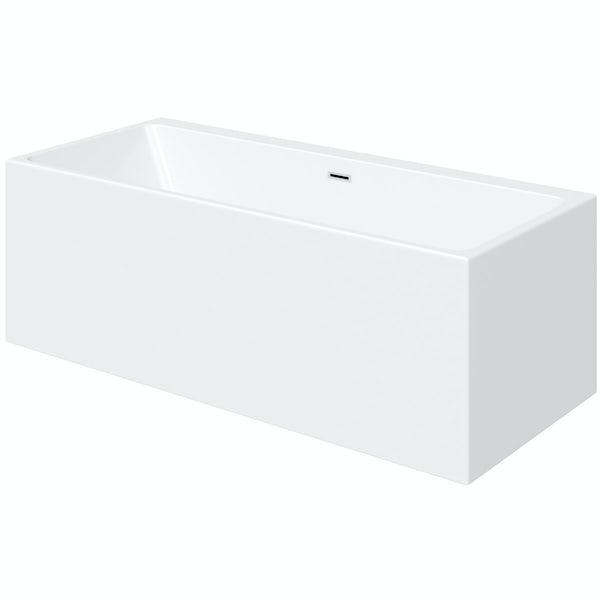 Mode Cooper rectangular freestanding bath 1700 x 750