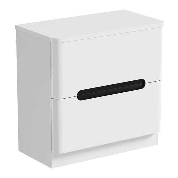 Mode Ellis essen vanity drawer unit and countertop 800mm
