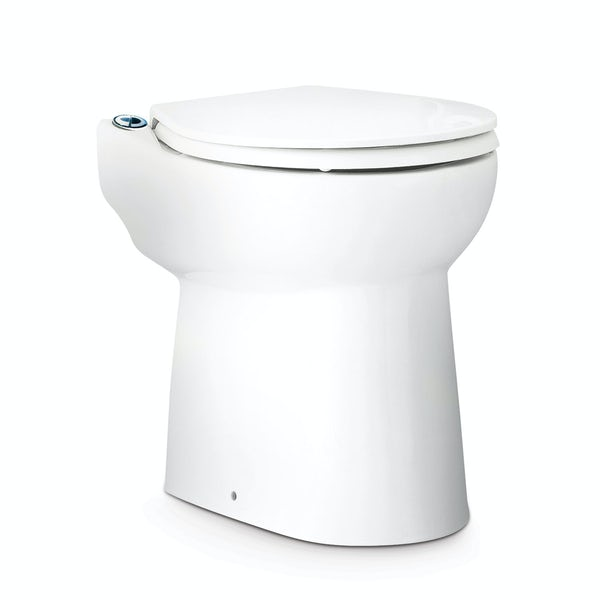 Saniflo Sanicompact cisternless back to wall toilet and macerator