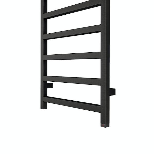 Terma Simple ONE heban black electric towel rail